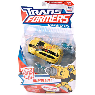 Hasbro Transformers Animated Deluxe Bumblebee