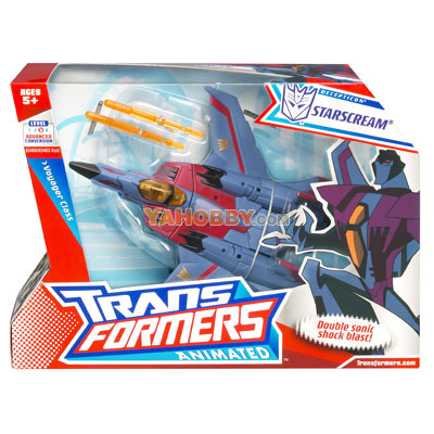 Transformers Animated Voyager Starscream
