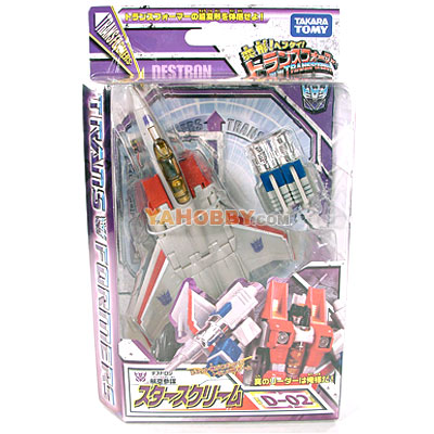 Japanese Transformers Takara Henkei Classic D-02 Starscream