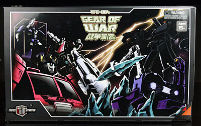 Transformers Classic TFC-004 Gear Of War Weapon Set