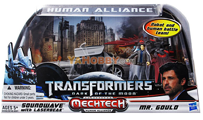 Transformers Human Alliance Soundwave Laserbeak