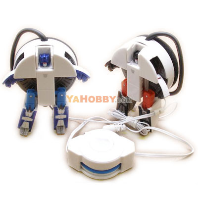 Transformers Music Label Frenzy & Rumble Earphone Speakers