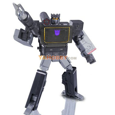 Transformers Music Label Soundblaster (Black Soundwave) MP3 Player