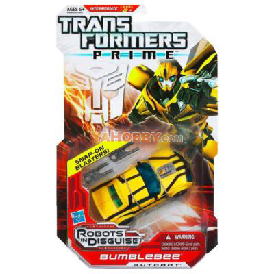 Transformers Prime Robots In Disguise Deluxe Series 1 Bumblebee