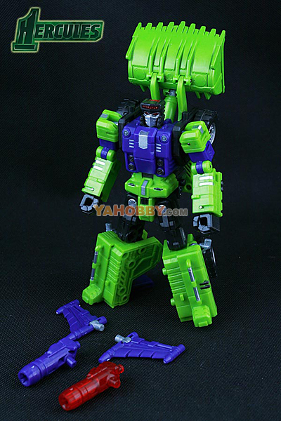 Transformers TFC Toys Hercules Structor