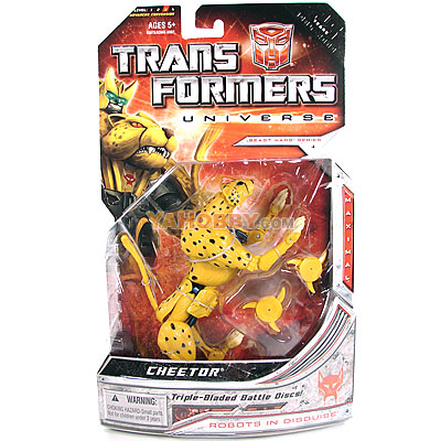 Transformers Universe Deluxe - Wave 04 - Maximal Cheetor