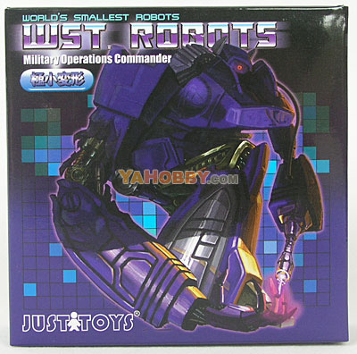 Transformers WST Shockwave - Military Operations Commander