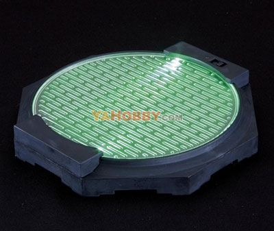 Gundam Model Kit Lightning Base Plate Type Green Ver.