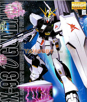 Gundam Master Grade 1/100 Model Kit MG RX-93 Nu Gundam