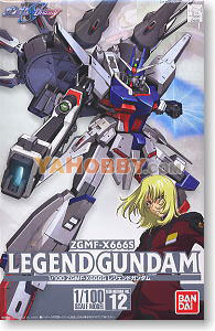 Gundam Seed Destiny 1/100 Model Kit ZGMF-x666s Legend Gundam