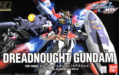 Gundam Seed Destiny HG 1/144 Model Kit Dreadnought Gundam