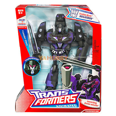 tfTransformers Animated Leader Class Shadow Blade Megatron