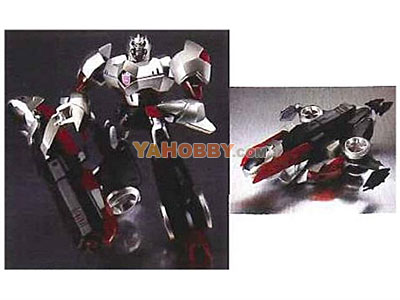 Japanese Transformers Animated - TA06 Megatron