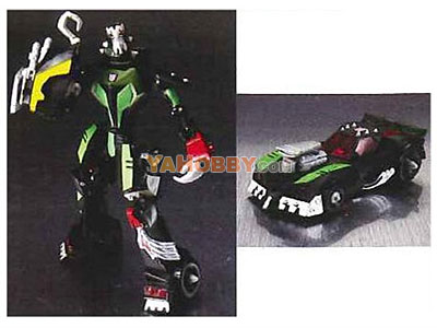 Japanese Transformers Animated - TA08 Rockdown