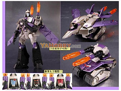 Japanese Transformers Animated - TA13 Blitzwing