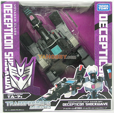 Japanese Transformers Animated - TA14 Decepticon Showwave