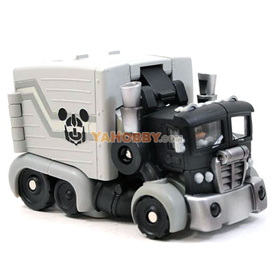 Disney Label Mickey Mouse Transformers Black and White Monochrome
