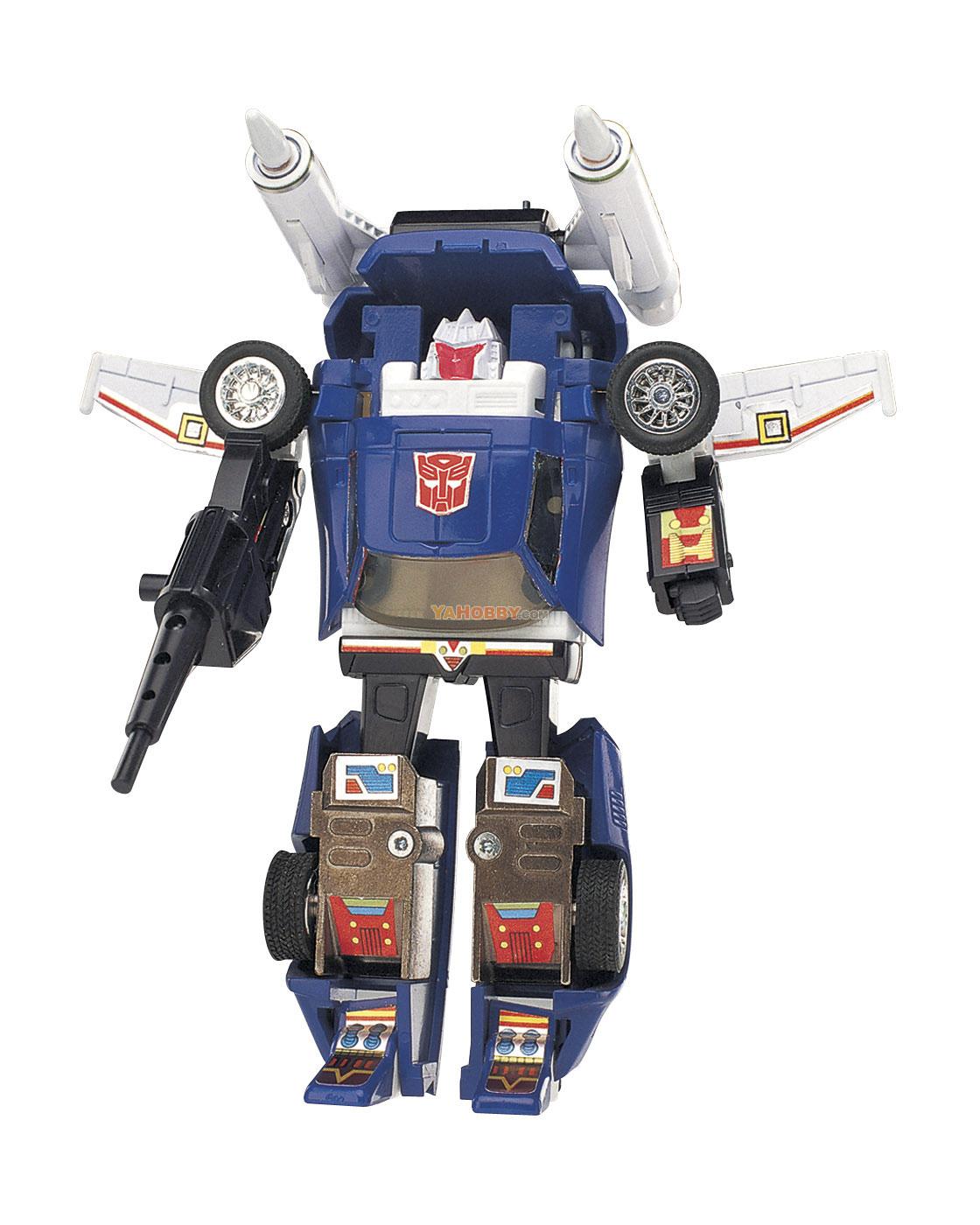 Hasbro commemorative transformers g reissue autobot tracks