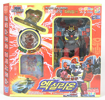 Mocom Transformers Galaxy Force Exillion Hot Shot GC-02 Korean Ver
