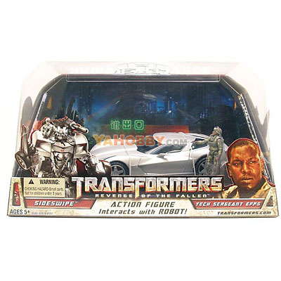Transformers Human Alliance Sideswipe with Sargent Epps