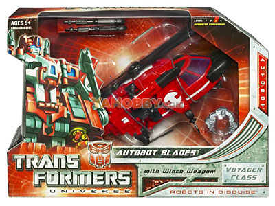 Transformers Universe Voyager Class Wave 02 - Autobot Blades