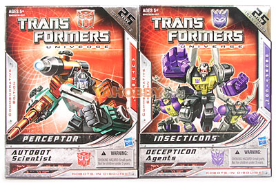 Transformers Universe Perceptor Insecticons Commemorative Set