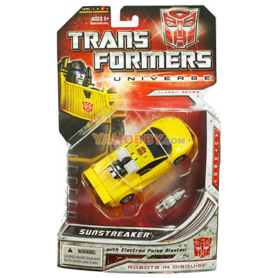 Transformers Universe Deluxe - Wave 01 - Sunstreaker