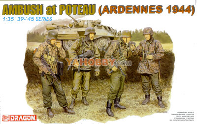 1:35 Dragon Figures Ambush at Poteau Ardennes 1944 6091