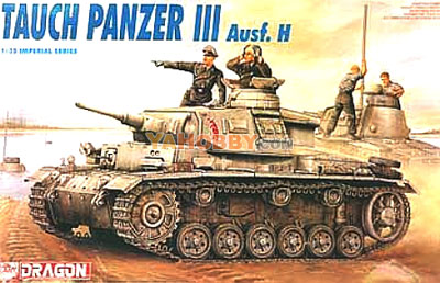 1:35 Dragon Tauch Panzer III Ausf H 9033