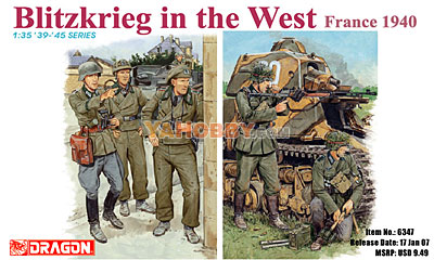 1:35 Dragon Blitzkrieg in the West France 1940 6347