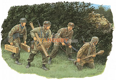 1:35 Dragon Hedgerow Tank Hunters Fallschirmjager 1944 6242