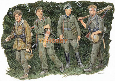1:35 Dragon German Infantry Battle of the Hedgerows 1944 6240
