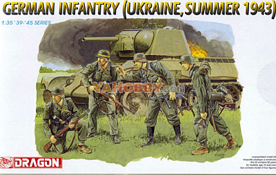 1:35 Dragon German Infantry Ukraine Summer 1943 6153