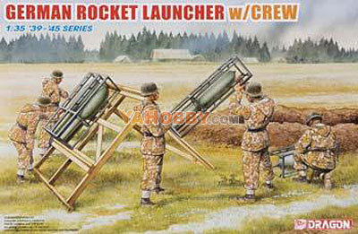 1:35 Dragon German Rocket Launcher w/Crew 6509