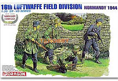 1:35 Dragon 16th Luftwaffe Field Division Normandy 1944 6241