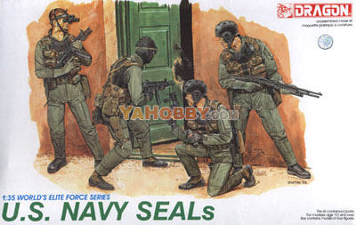 1:35 Dragon US Navy SEALS Figures Set 3017