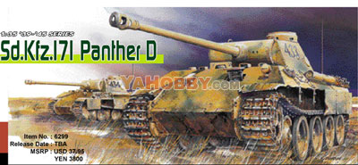 1:35 Dragon Sd.Kfz.171 Panther D Premium Edition Kit 6299