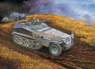 1:35 Dragon Sd. Kfz. 250/10 with 3.7cm PAK 6139