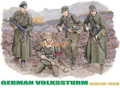 1:35 Dragon 10th Anniversary German Volkssturm 6173