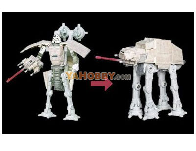 Star Wars Transformers AT-AT Driver AT-AT