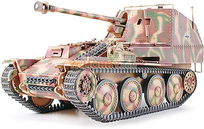 1:35 Tamiya Model Kit German Tank Destroyer Marder III M 35255