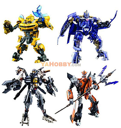 Transformers 2010 Movie 2 ROTF Deluxe Series 03 Set of 4