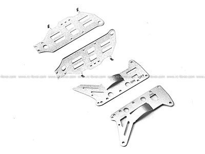 Double Horse RC Helicopter 9098 Spare Parts Aluminium Plate 09