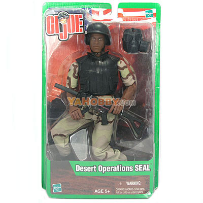 Hasbro GI JOE 12 Inch Action Fiture Desert Operations SEAL