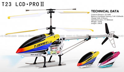 MJX T23 Thunderbird 4CH RC Helicopter RTF w/ Gyro Pink