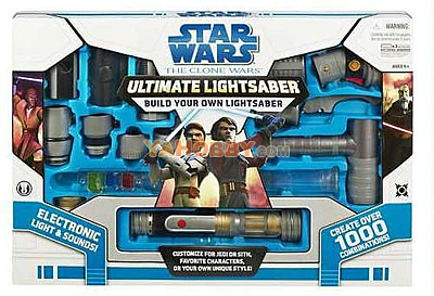 Star Wars Clone Wars Electronic Ultimate Lightsaber