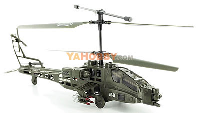 SYMA S009G AH-64 Apache 3 Channel Indoor Helicopter w/ Gyro