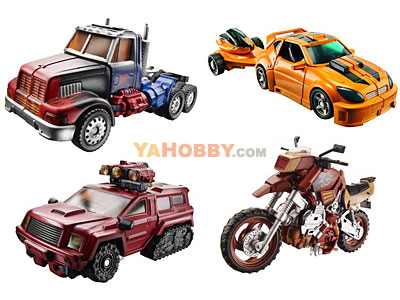 Transformers 2011 Deluxe Series 02 - Set of 4