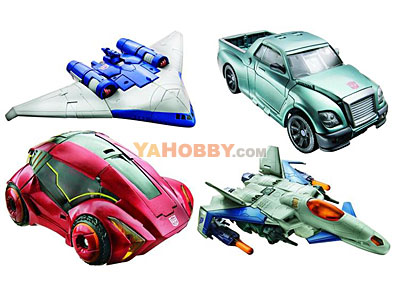 Transformers 2011 Movie Generations Series 02 - Set of 4