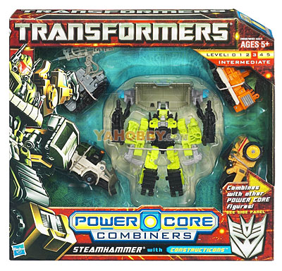 Transformers 2011 Combiner 5-Packs Series 01 Constructicons